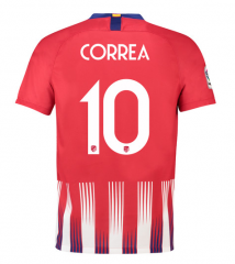 #10 CORREA Atletico Madrid Home Soccer Jersey 2018-2019