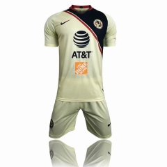 Club America Home Uniform 2018-2019 ,Jersey+Shorts
