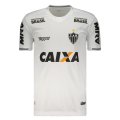 Atletico Mineiro Away With All Sponsor White Soccer Jersey 2018-2019