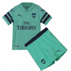 Youth Arsenal Third Away Uniform 2018-2019 ,Jersey+Shorts