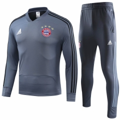 Bayern Munchen UCL Grey Training Suit 2018-2019