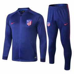 Atletico Madrid Blue Jacket Suit 2018-2019