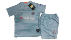 Youth Chelsea Third Away Uniform 2018-2019 ,Jersey+Shorts