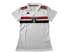 2018-2019 Sao Paulo Home Women's Soccer Jersey [Without Sponsor]