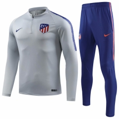 Atletico Madrid Grey White Training Suit 2018-2019
