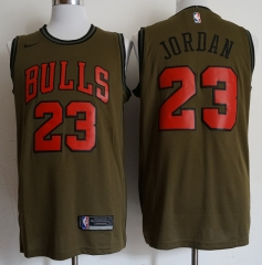 Men NBA Chicago Bulls #23 Michael Jordan Swingman City Edition Jersey