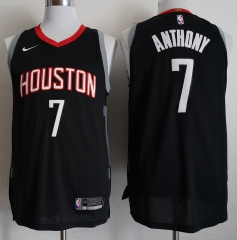 Men NBA Houston Rockets #7 Carmelo Anthony Icon Edition Swingman Jersey