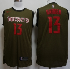 Men NBA Houston Rockets #13 James Harden Icon Edition Swingman Jersey