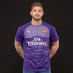 Arsenal Purple Goalkeeper Soccer Jersey Shirt 2018-2019