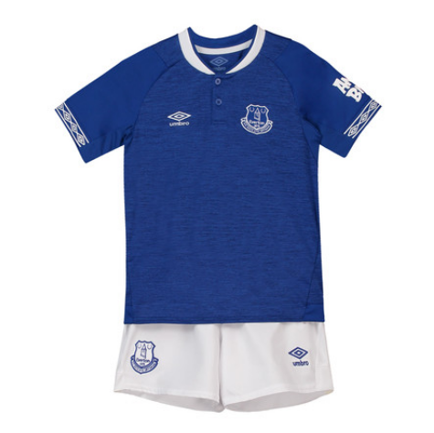 Youth Everton Home Uniform 2018-2019 ,Jersey+Shorts [China Quality]