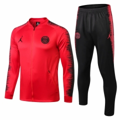 Paris Jordan UCL Red Jacket Suit 2018-2019