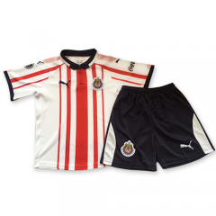 Youth Chivas Home Uniform 2018-2019 ,Jersey+Shorts [China Quality]