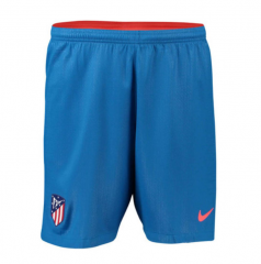 2018-2019 Men's Atletico Madrid Away Blue Shorts