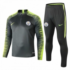 Manchester City Green Training Suit 2018-2019