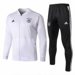 Germany White Jacket Suit 2018-2019