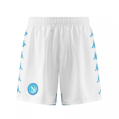2018-2019 Men's Napoli Home White Shorts