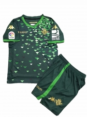 Youth Real Betis Away Uniform 2018-2019 ,Jersey+Shorts [China Quality]