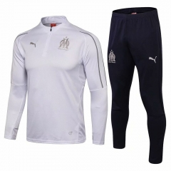 Marseille White Training Suit 2018-2019