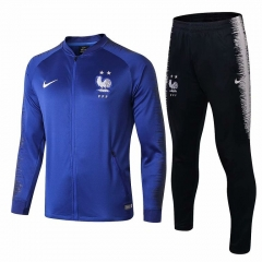 2 Star France Blue Jacket Suit 2018-2019