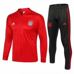 Bayern Munchen Red Jacket Suit 2018-2019