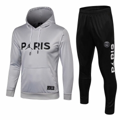 Paris White Jordan UCL Hoodie Training Suit 2018-2019