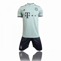 Youth Bayern Munchen Away Uniform 2018-2019 ,Jersey+Shorts [China Quality]