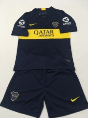 Youth Boca Home Uniform 2018-2019 ,Jersey+Shorts [China Quality]