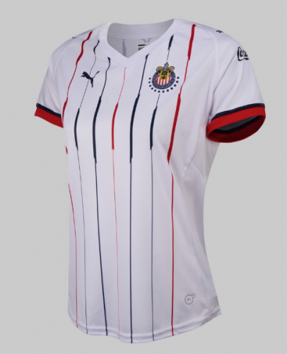 2018-2019 Chivas Away Women's Soccer Jersey