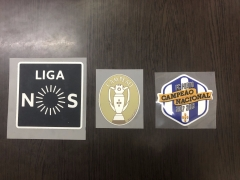 Liga Nos Player Issue Patch+ Liga Portugal Campeao Patch+FC PORTO CAMPEAO NACIONAL 2017-18 ,3pcs