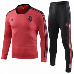 Real Madrid Red Training Suit 2018-2019