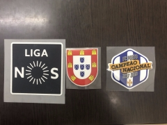 Liga Nos Player Issue Patch+Champions FC PORTO CAMPEAO NACIONAL 2017 2018 patch,3pcs