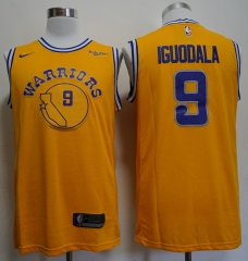 Men NBA Golden State Warriors #9 Andre Iguodala Retro version Jersey