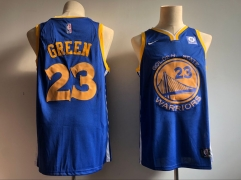Men NBA 2018-19 Golden State Warriors #23 Draymond Green Jersey - Fans version