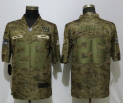 New Nike New York Giants 26 Barkley Nike Camo Salute to Service Limited Jersey