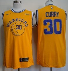 Men NBA Golden State Warriors #30 Stephen Curry Retro version Jersey