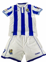 Youth Real Sociedad Home Uniform 2018-2019 ,Jersey+Shorts [China Quality]
