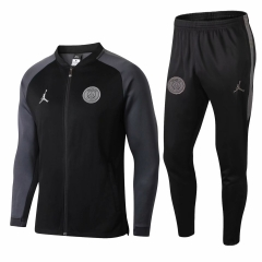 Paris Jordan UCL Black Jacket Suit 2018-2019