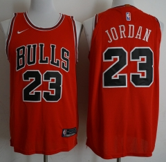 Men NBA Chicago Bulls #23 Jordan Swingman City Edition Jersey Black