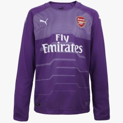 Arsenal Purple Goalkeeper Long Sleeve Soccer Jersey Shirt 2018-2019