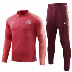 Barcelona Red Training Suit 2018-2019