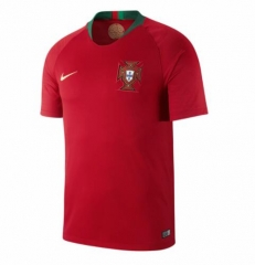 2018 World Cup Portugal Home Soccer Jersey Shirts