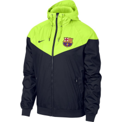 Barcelona Green Blue Windbreaker 2018-2019