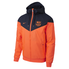 Barcelona Blue Orange Windbreaker 2018-2019