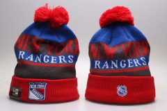 New York Rangers Knit Hat