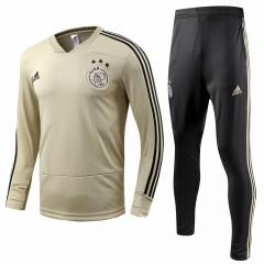 Youth Ajax Khaki Training Suit 2018-2019
