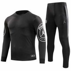 Paris Jordan Black Training Suit 2018-2019