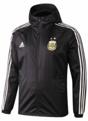 Argentina Black Windbreaker 2018-2019