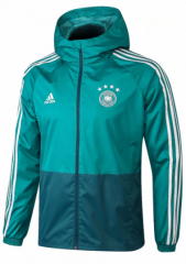 Germany Blue Green Windbreaker 2018-2019