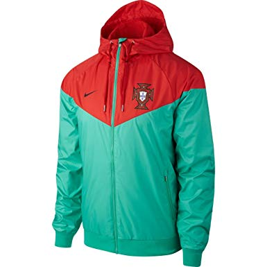 Portugal Red Green Windbreaker 2018-2019