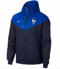 2 Star France Blue Windbreaker 2018-2019